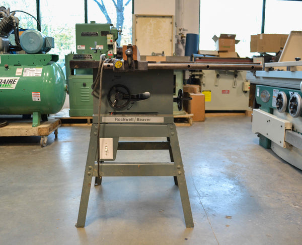 Rockwell 2HP Table Saw - Coast Machinery Group Inc