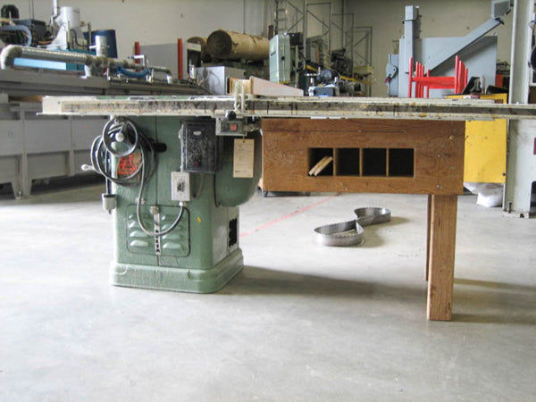 Rockwell 1.5HP Table Saw - Coast Machinery Group Inc