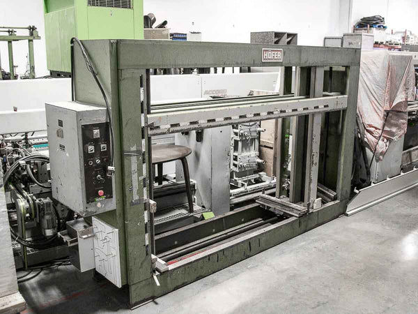 Hofer KPD Semi-Automatic Case Clamp - Coast Machinery Group Inc