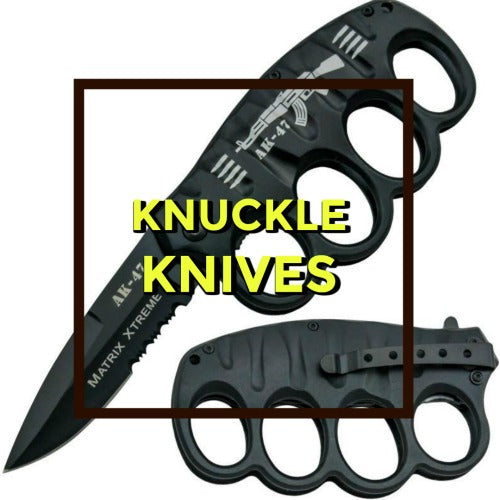 Brass Knuckle Knives
