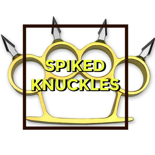 Spiked Brass Knuckles