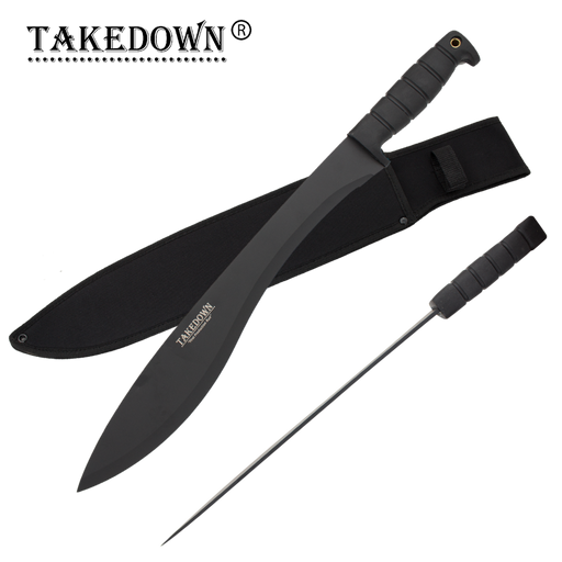 21 Inch Takedown® Undead Slayer Colima Machete - Knockout Knucks