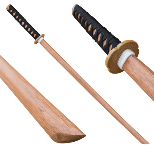Natural Wood Bokken Practice Sword