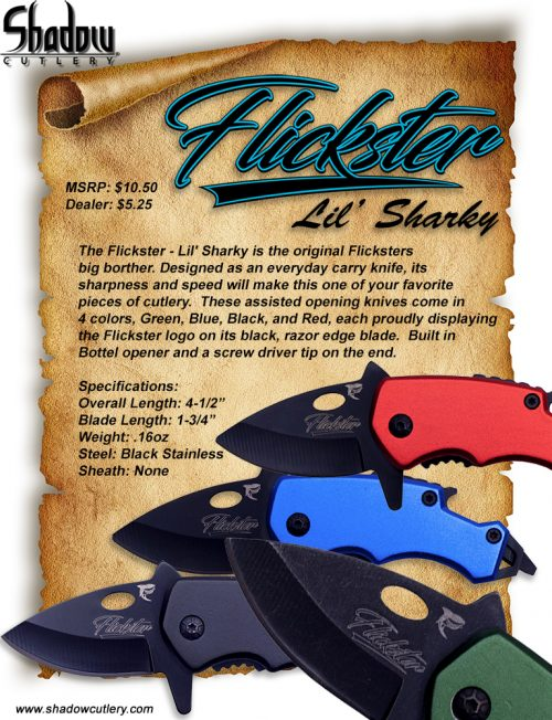 Flickster – Lil' Sharky – Red
