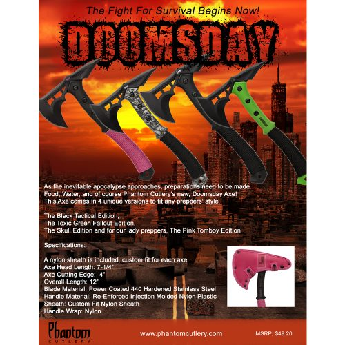 Doomsday – Tomboy Edition Axe - Knockout Knucks