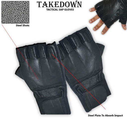 Takedown Extra Large Fingerless Sap Gloves