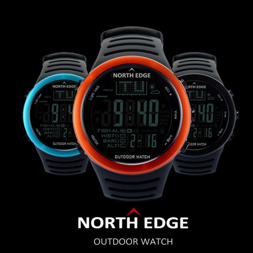 NORTH EDGE Men's Outdoor Survival Watch - Knockout Knucks