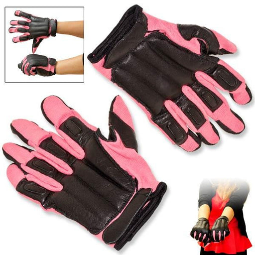 Pink SAP Gloves - Knockout Knucks