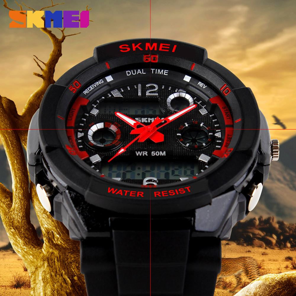 Skmei Military Watch - Digital Shock Resistant