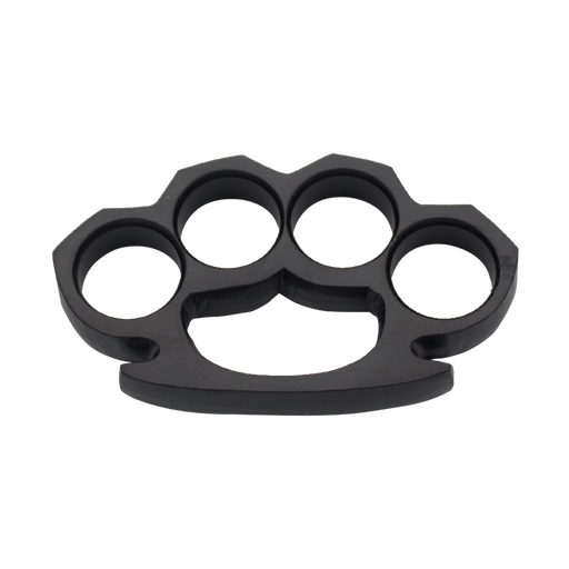 Super Black Brass Knuckles-Knockout Knucks