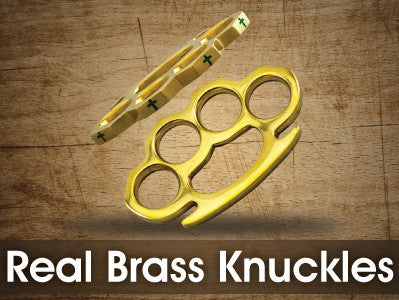 Real Brass Knuckles