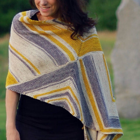 Square Route Shawl