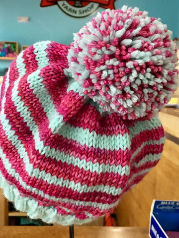 Pretty and Sweet Hat Knitting Pattern