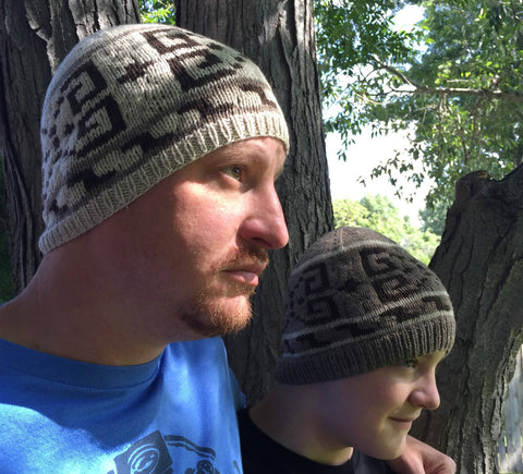 His Dudeness - Sport Weight Hat Knitting Pattern