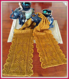 Thailand Memories Lace Knit Scarf