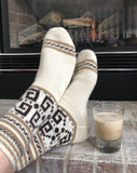 Dude Socks - Fingering weight knitting pattern