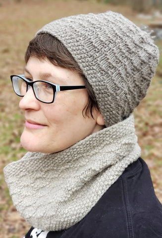 Beach Pebbles Hat and Cowl