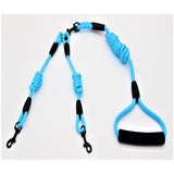 Blue Dual Dog Lead Leash