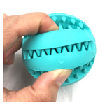 Rubber Dog Training Chew Bite Ball