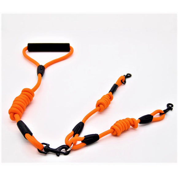 Orange Dual Dog Lead Leash