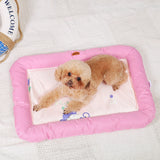 Washable Pink Cooling Summer Pet Mat