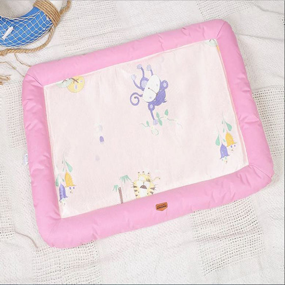 Washable Pink Summer Pet Mat