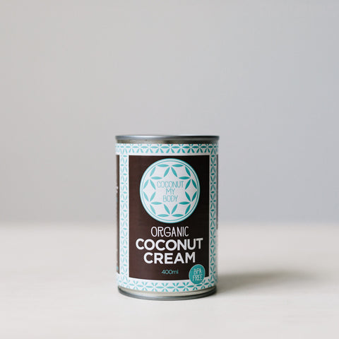 Organic Coconut Cream 400ml BPA free
