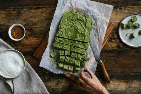 Matcha Coconut Butter Chunks