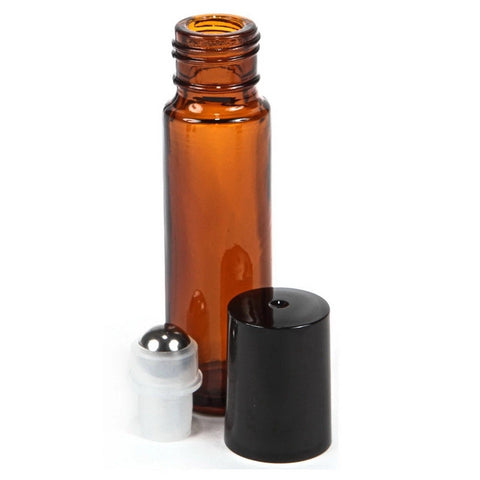 Amber Rollerball Bottle 10ml
