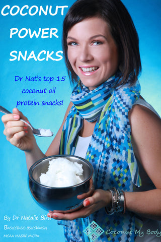 Coconut Power Snacks -  by Dr Natalie Bird