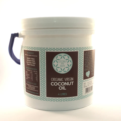 Organic Virgin Coconut Oil 4L