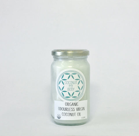 Organic Odourless Coconut Oil 400ml