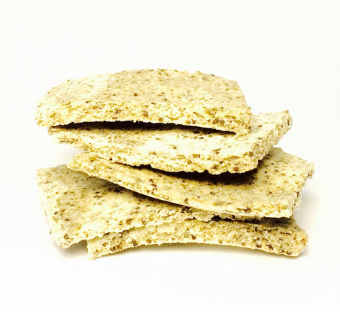 Raw Coconut & Chia Crackers