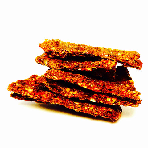 Raw Herb & Beetroot Crackers