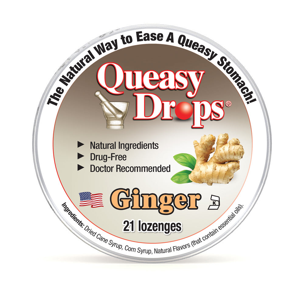 Natural Queasy Drops - Ginger