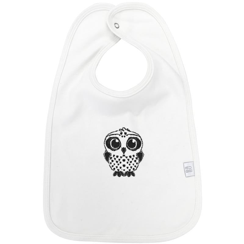 Single Organic Cotton Bib