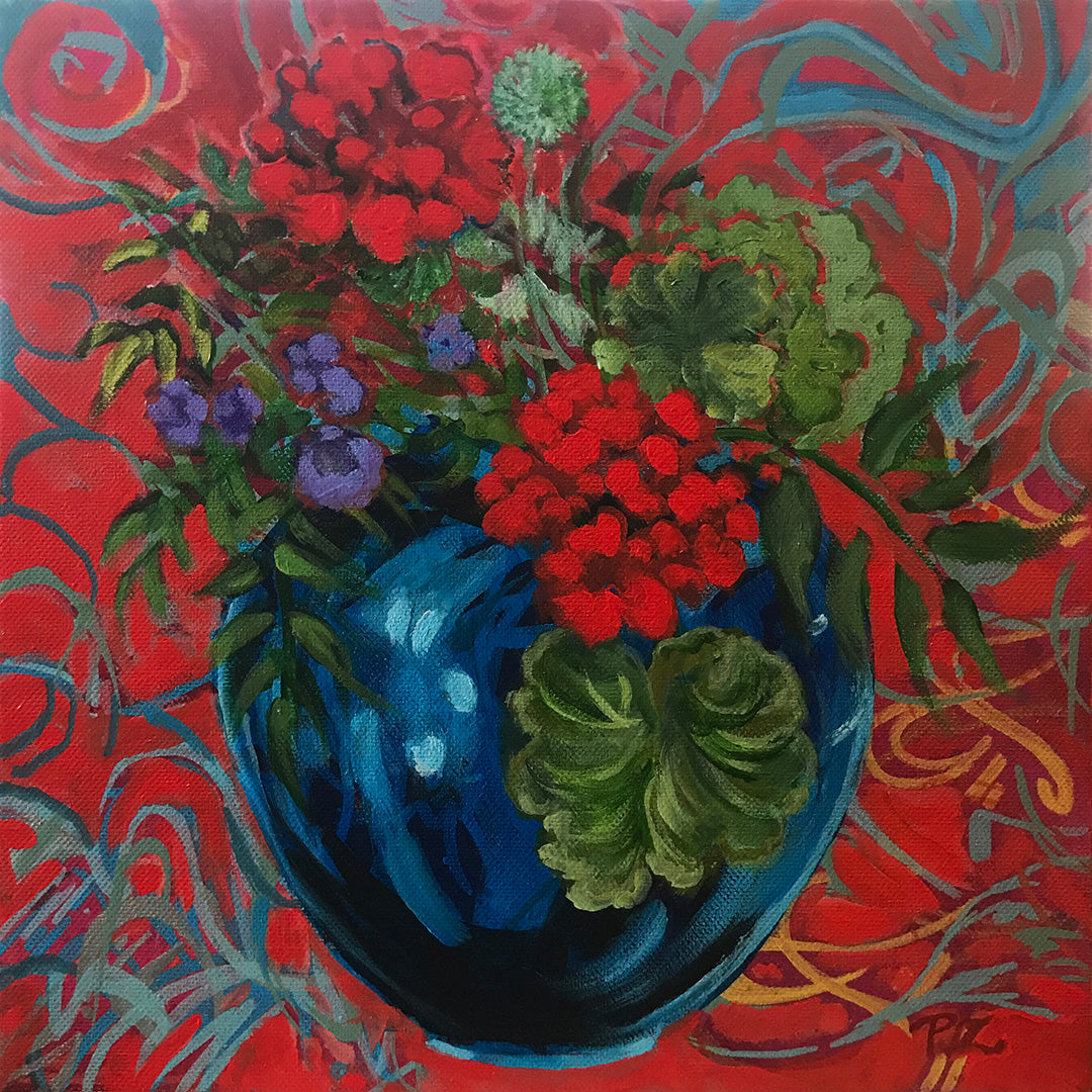 "Paula Zoubek ""Study In Red"""