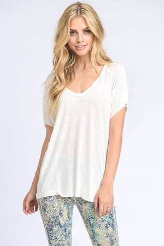 Milly Ivory Tee