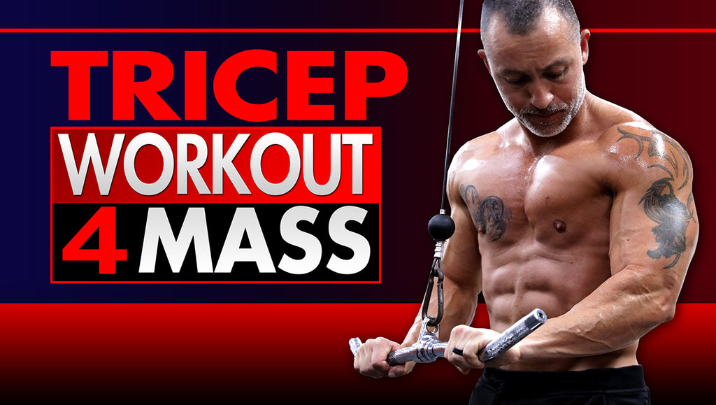 10 Best Tricep Workouts For Mass