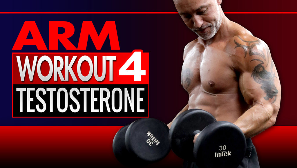 5-minute Bicep and Tricep workouts that boost testosterone