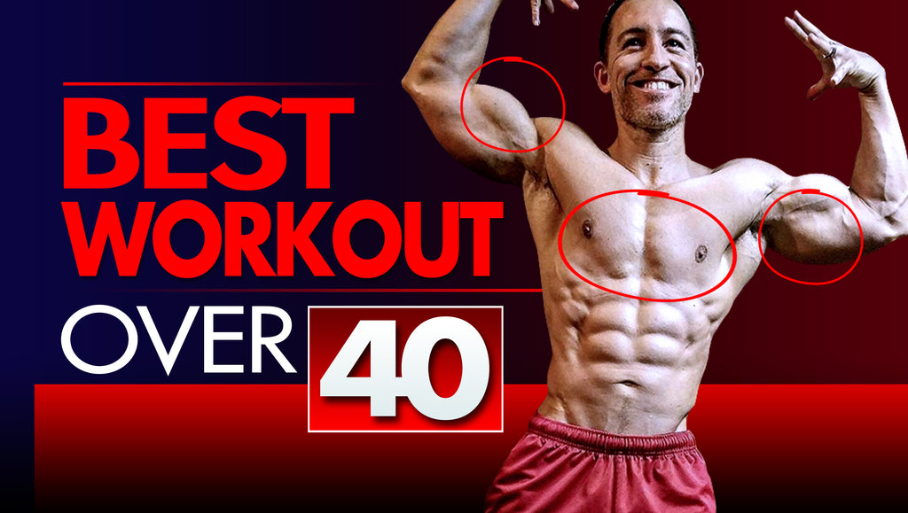 Best Workout For Men Over 40 (TriCon Training, Chest, Shoulders, Triceps)