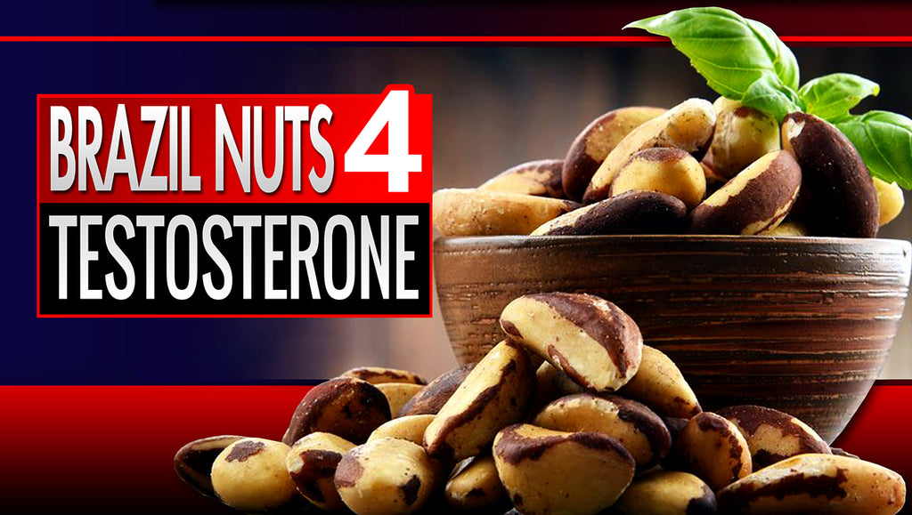 Brazil Nuts Testosterone and the Manliest Nut Butter You've Ever Tri – LiveAnabolic