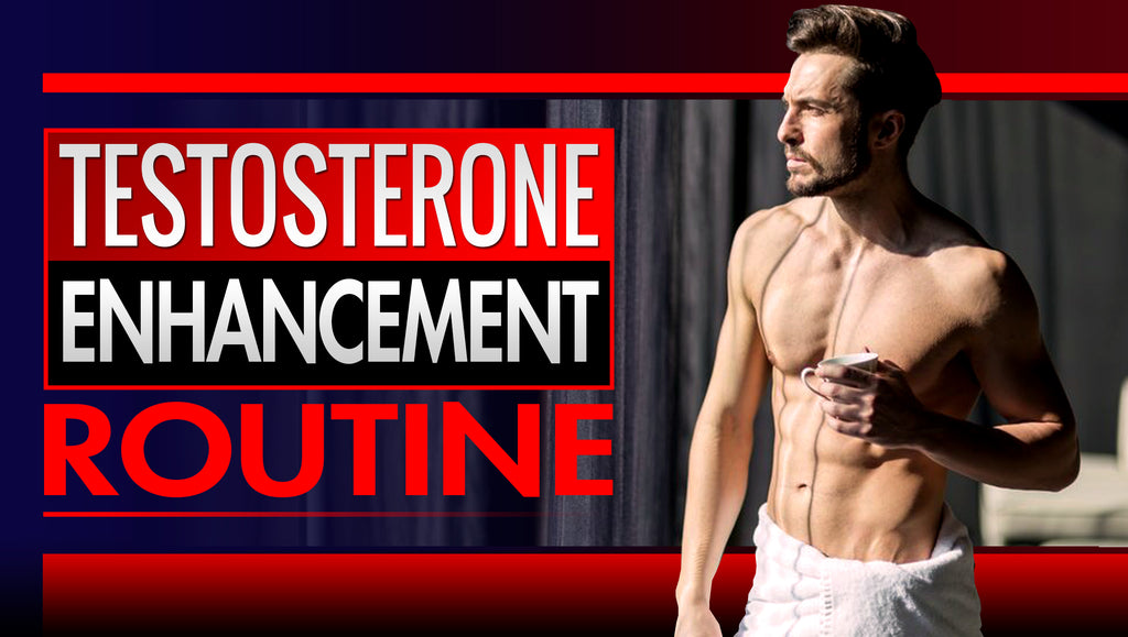 'No Exercise' Natural Testosterone Enhancement Routine