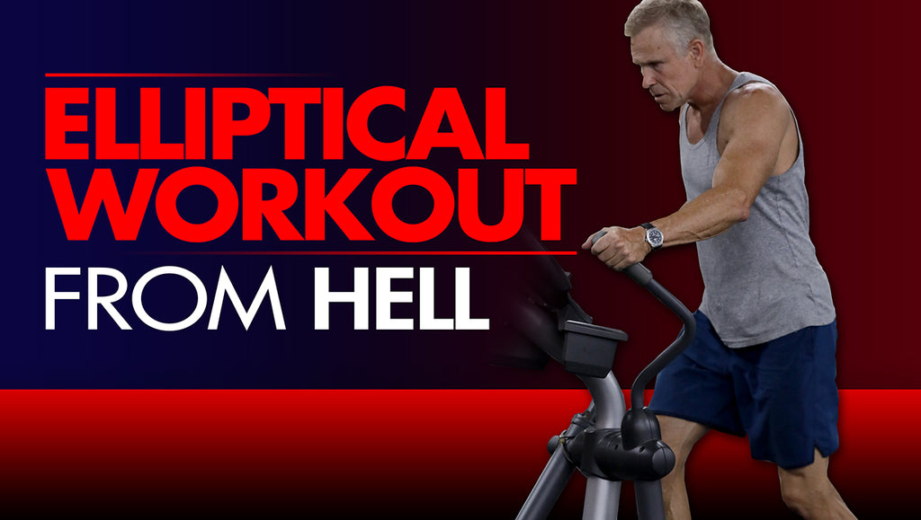 The Elliptical Interval Training Workout From Hell