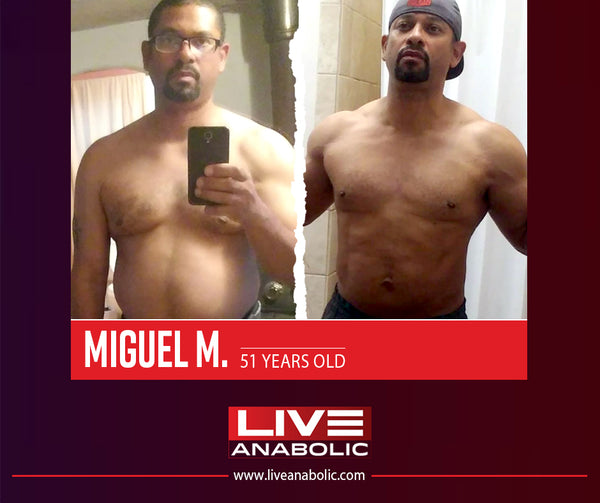 Live Anabolic Transformation
