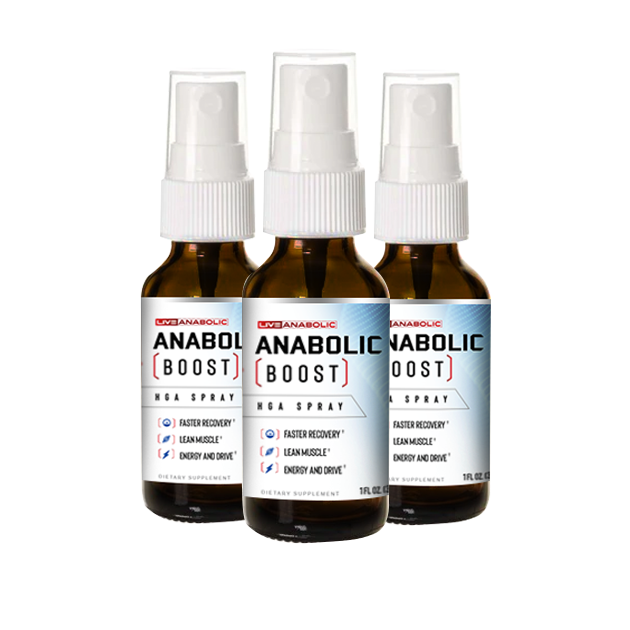 Anabolic Boost - 3 Bottles