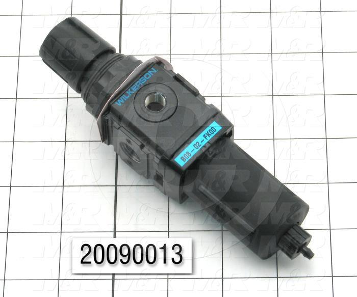 Filter - Regulator - Lubricator, Coalescing Filter Removes Aerosol Oil From Compressed Air