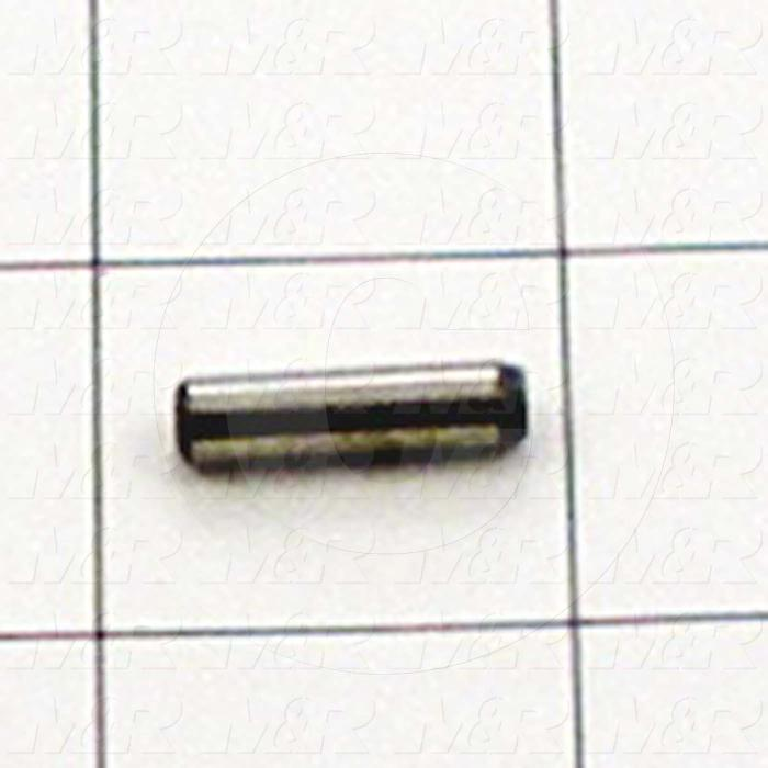 "Pin, Dowel Pin, ANSI, 0.19 in. Diameter, 0.750"" Overall Length, Alloy Steel Material ( 10 Pack )"