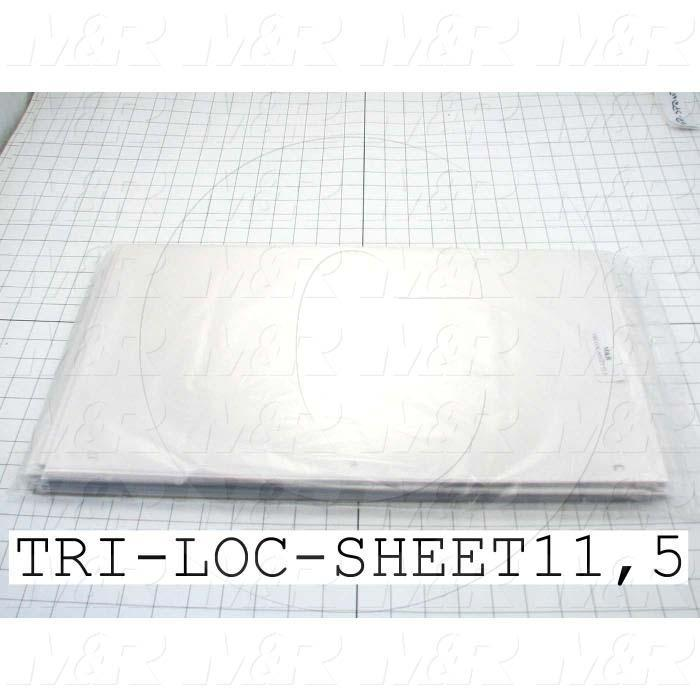 Tri-Loc Carrier Sheets ( 100 Pack )