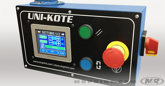 UNI-KOTE™ Automatic Screen Coating Machine